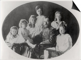 The Family of Tsar Nicholas II (1868-1918) Plakater af Russian Photographer