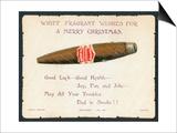 Havana Cigar, Christmas Card Art
