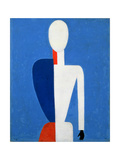 Torso, Transformation to a New Shape, 1928-32 Plakater af Kasimir Malevich