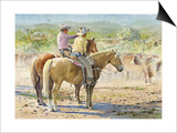 Splitting the Herd Prints by LaVere Hutchings