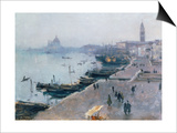 Venice in Grey Weather Posters by John Singer Sargent
