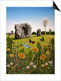 Avebury, 1983 Art by Frances Broomfield