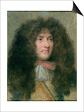 Portrait of Louis Xiv (1638-1715) King of France Posters by Charles Le Brun