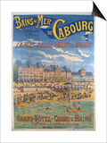 Cabourg Poster Prints by Emile Levy