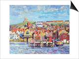 Whitby, 1998 Print by Martin Decent