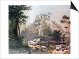 View of El Castillo, 1844 Posters by Frederick Catherwood