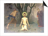 The Beheading of St. John the Baptist, 1869 Print by Pierre Puvis de Chavannes