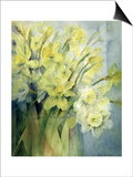 Daffodils, Uncle Remis and Ice Follies Prints by Karen Armitage