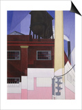 .... and the Home of the Brave, 1931 Art par Charles Demuth