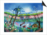 The Garden of Eden Prints by Herbert Hofer