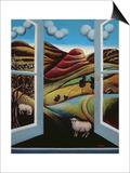 Highland View Prints by Jerzy Marek