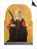 St Lucy, C. 1473- 74 Prints by Francesco del Cossa