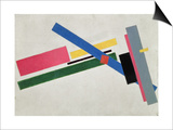Suprematist Construction Prints by Kasimir Malevich