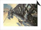 Le Pont De L'Europe, 1876 Prints by Gustave Caillebotte