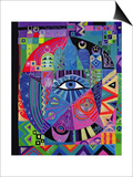 Eye of Destiny, 1992 Posters by Laila Shawa