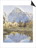 Half Dome and Mirror Lake, 1921 Prints by Gunnar Widforss