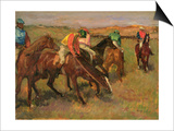 Before the Races, C.1882 Print by Edgar Degas