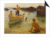 Morning Splendour, 1922 Prints by Henry Scott Tuke
