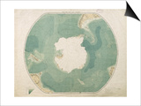South Polar Chart, 1901 Prints by  English School