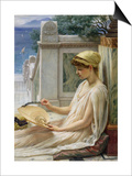 On the Terrace, 1889 Posters by Edward John Poynter