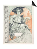 Plate 1 from 'Documents Decoratifs', 1902 Prints by Alphonse Mucha