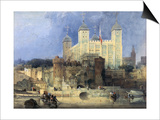 Tower of London Posters by David Roberts