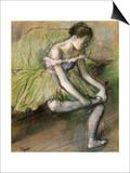 La Jupe Verte, C.1896 Posters by Edgar Degas