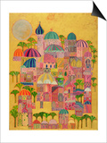 The Golden City, 1993-94 Prints by Laila Shawa