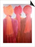 Bir Trio Prints by Lincoln Seligman