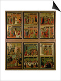 Maesta: Eleven Scenes from the Passion, 1308-11 Posters by Duccio Di buoninsegna
