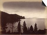 Lake Tahoe, Usa, 1860-80 Print by Carleton Emmons Watkins
