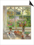 Autumn Fruit and Flowers, 2001 Prints by Timothy Easton