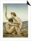 Phosphorus and Hesperus, 1882 Prints by Evelyn De Morgan
