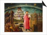 Divine Comedy Posters by Dante Alighieri