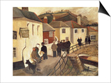 The Ship Hotel, Mousehole, Cornwall, 1928/9 Prints by Christopher Wood