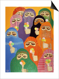 The Impossible Dream, 1988 Prints by Laila Shawa