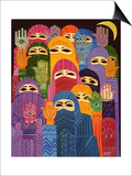 The Hands of Fatima, 1989 Prints by Laila Shawa