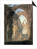 Tintern Abbey Print by Thomas Girtin