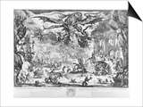 The Temptation of St. Anthony, 1635 Prints by Jacques Callot