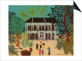 Hemingway's House, Key West, Florida Prints by Micaela Antohi