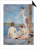 The Bathers, 1889 Posters by Henry Scott Tuke
