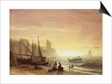 The Fishing Fleet, 1862 Posters by Albert Bierstadt