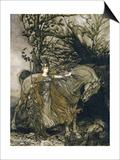Brunnhilde, 1910 Prints by Arthur Rackham