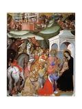 The Adoration of the Magi, C.1380 by Bartolo Di Fredi Giclee Print