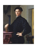 Portrait of a Young Man by Agnolo Bronzino Giclee Print