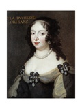 Portrait of Elizabeth Charlotte, Princess Palatine Giclee Print