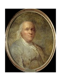 Portrait of Benjamin Franklin - by Joseph Siffred Duplessis Giclee Print