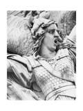 Detail of Le Depart De 1792 on the Arc De Triomphe Giclee Print