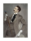 Portrait of Count Robert of Montesquiou by Giovanni Boldini Giclee Print