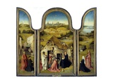 Adoration of the Magi or the Epiphany - by Hieronymus Bosch Giclee Print